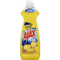 AJAX Dish Liquid, Lemon, 14 Ounce