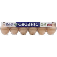 Pete And Gerry's Eggs, Organic, Free Range, Large, 12 Each