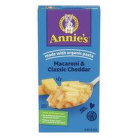 Annie's Macaroni & Cheese, Classic Cheddar, 6 Ounce