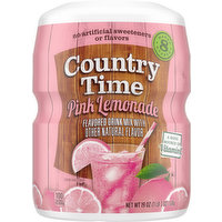 Country Time Drink Mix, Pink Lemonade Flavored, 19 Ounce