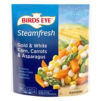 Birds Eye Gold & White Corn, Carrots & Asparagus, 10.8 Ounce