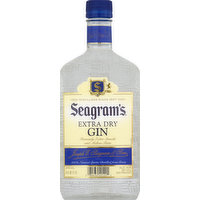 Seagram's Gin, Extra Dry, 375 Millilitre