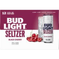 Bud Light Seltzer, Black Cherry, 12 Each