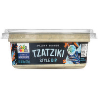 Good Foods Plant Based Tzatziki Style Dip, 8 Ounce