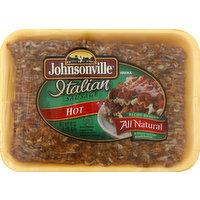 Johnsonville Sausage, Italian, Hot, 16 Ounce