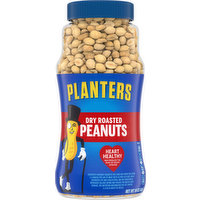 Planters Peanuts, Dry Roasted, 16 Ounce