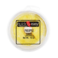 Quick and Easy Pineapple Cored, 16 Ounce