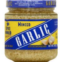 Spice World Garlic, Minced, 8 Ounce