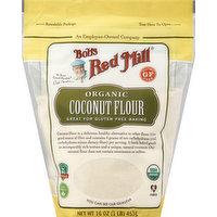 Bob's Red Mill Coconut Flour, Organic, 16 Ounce