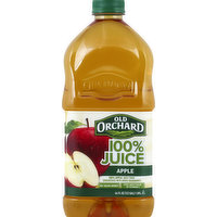 Old Orchard 100% Juice, Apple, 64 Ounce