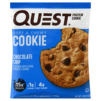 Quest Protein Cookie, Chocolate Chip, Soft & Chewy, 2.08 Ounce