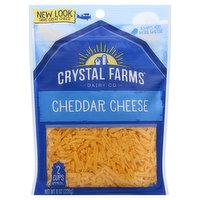 Crystal Farms Cheese, Cheddar, 8 Ounce