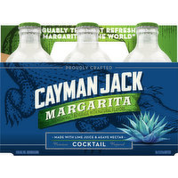 Cayman Jack Cocktail, Margarita, 6 Each