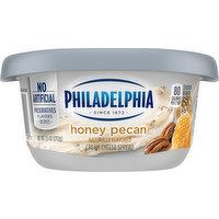 Philadelphia Cream Cheese Spread, Honey Pecan, 7.5 Ounce