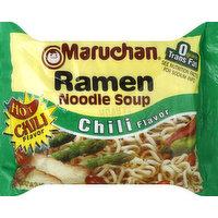 Maruchan Ramen Noodle Soup, Chili Flavor, 3 Ounce