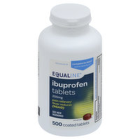 Equaline Ibuprofen, 200 mg, Coated Tablets, 500 Each