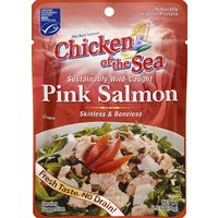 Chicken of the Sea Pink Salmon, Skinless & Boneless, 2.5 Ounce