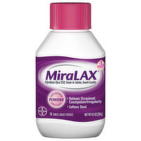 MiraLAX Laxative, Osmotic, Unflavored, Powder, 8.3 Ounce
