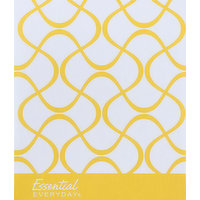 Essential Everyday Facial Tissues, Soft & Strong, Premium White, 2-Ply, 80 Each