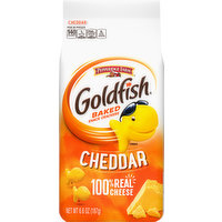 Goldfish Baked Snack Crackers, Cheddar, 6.6 Ounce
