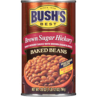 Bushs Best Baked Beans, Brown Sugar Hickory, 28 Ounce