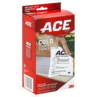 ACE Cold Compress, Instant, Twin Pack, 2 Each