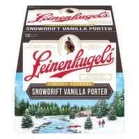 Leinenkugels Beer, Snow Drift Vanilla Porter, 12 Pack, 12 Each