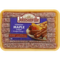 Johnsonville Sausage, Breakfast, Vermont Maple Syrup, 12 Ounce