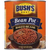 Bushs Best Baked Beans, Bean Pot, 117 Ounce