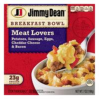 Jimmy Dean Breakfast Bowl, Meat Lovers, 7 Ounce