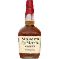 Makers Mark Whisky, Kentucky Straight Bourbon, 1 Litre
