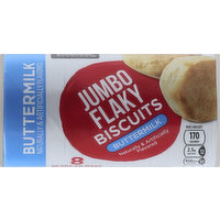 Essential Everyday Biscuits, Jumbo Flaky, Buttermilk, Ready-to-Bake, 8 Each