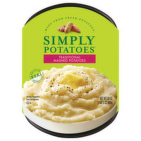 Simply Potatoes Mashed Potatoes, Traditional, 24 Ounce