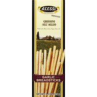 Alessi Breadsticks, Garlic, 4.4 Ounce