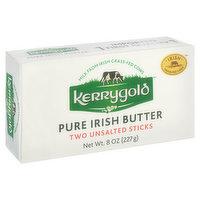 Kerrygold Butter Sticks, Pure Irish, Unsalted, 2 Each