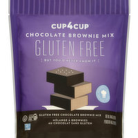 Cup4Cup Brownie Mix, Gluten Free, Chocolate, 404 Gram