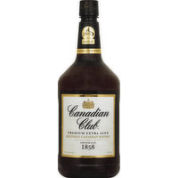Canadian Club Whisky, Blended Canadian, 1.75 Litre