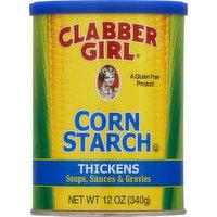 Clabber Girl Corn Starch, 12 Ounce