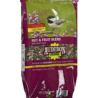 Audubon Park Wild Bird Food, Nut & Fruit Blend, 5 Pound