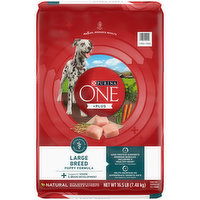 Purina Natural, High Protein, Large Breed Dry Puppy Food, +Plus Large Breed Formula, 16.5 Pound