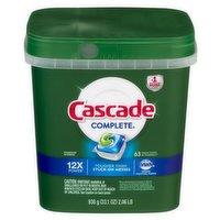 Cascade Complete ActionPacs Dishwater Detergent, 2.06 Pound