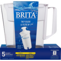 Brita Pitcher and Water Filter, 1 Each