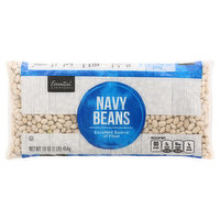 Essential Everyday Navy Beans, 16 Ounce