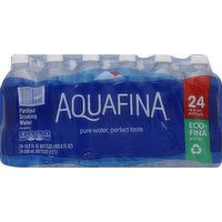 Aquafina Water, Purified Drinking, 24 Each