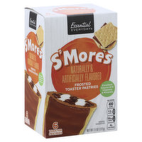 Essential Everyday Toaster Pastries, Frosted, S'mores, 6 Each