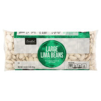 Essential Everyday Lima Beans, Large, 16 Ounce