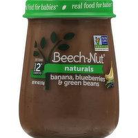 Beech Nut Banana, Blueberries & Green Beans, Stage 2 (6 Months+), 4 Ounce