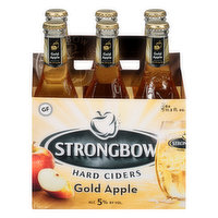 Strongbow Beer, Hard Ciders, Gold Apple, 6 Each