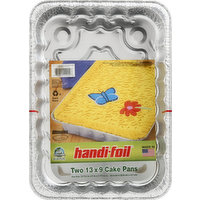 Handi-Foil Cake Pans, 13 x 9, 2 Pack, 2 Each
