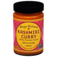 Maya Kaimal Indian Simmer Sauce, Kashmiri Curry, Mild, 12.5 Ounce